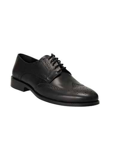 Altınyıldız Classics Klasik Deri Ayakkabı 4A2221100013 Siyah